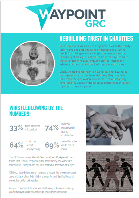 whistleblowing for charities